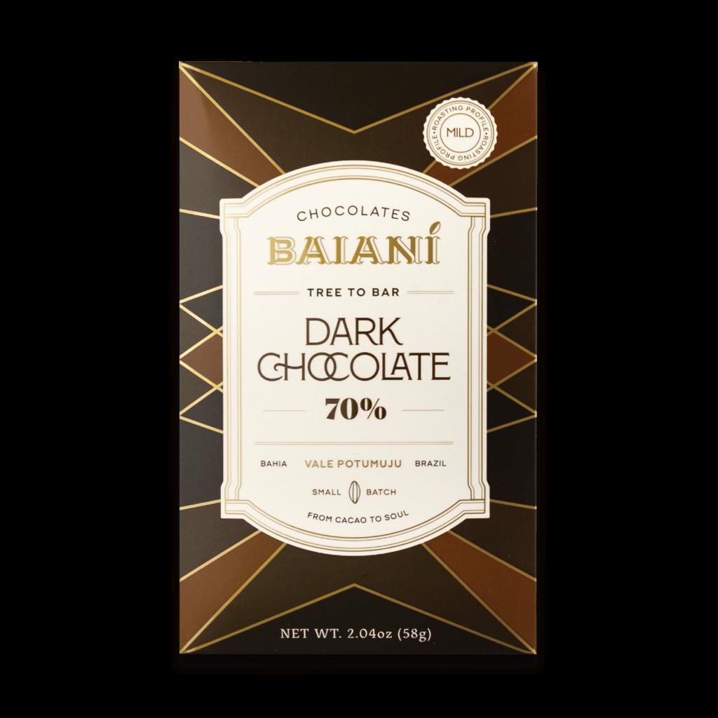 70% Dark Chocolate – Mild Roast
