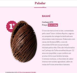 Baianí wins Big at the 2021 Prêmio Paladar-Estadão