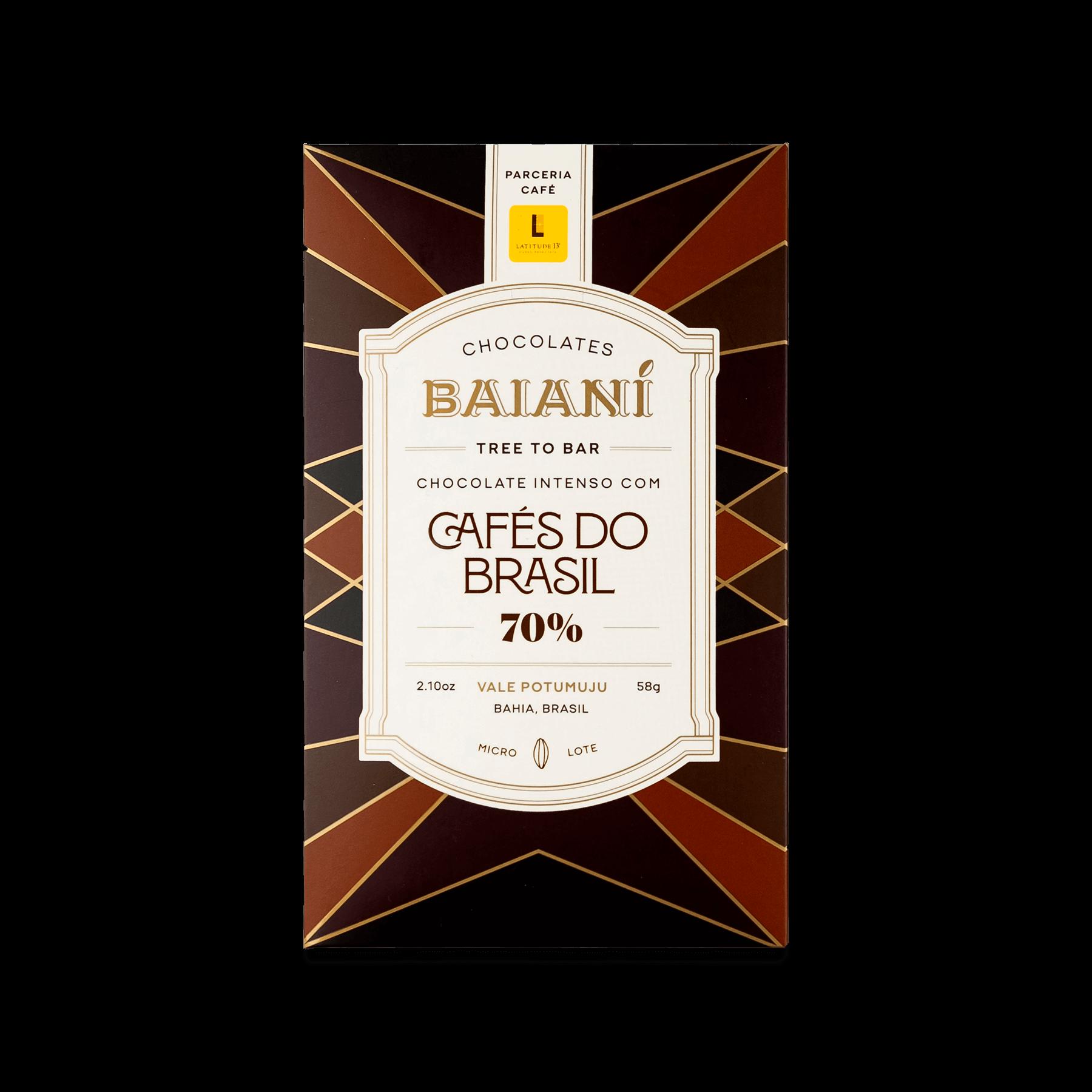 70% Cafés do Brasil – Latitude 13º