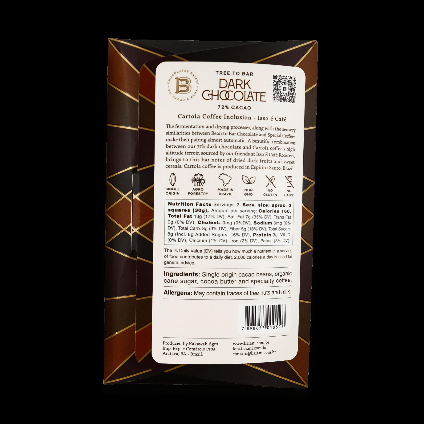 72% Cacao – Cartola Coffee