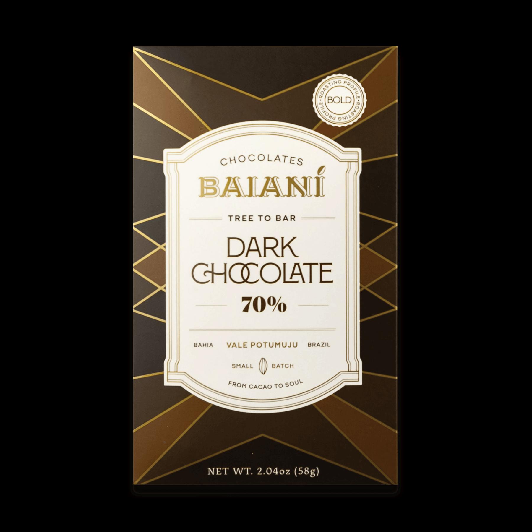 70% Dark Chocolate – Bold Roast