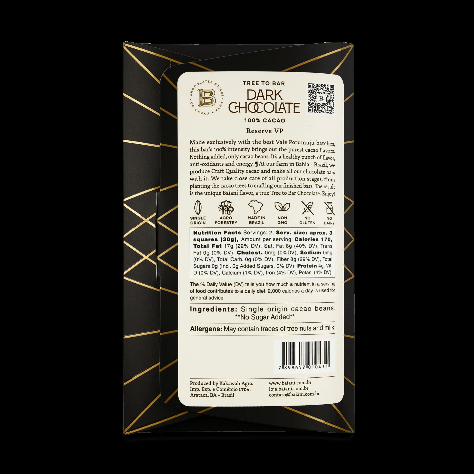 100% Cacao – VP Reserve