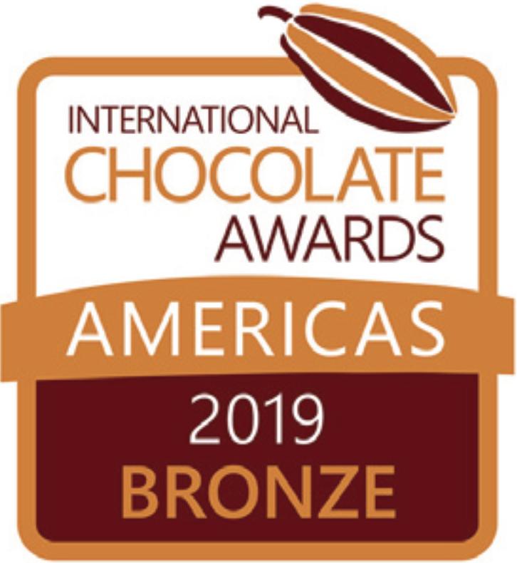 International Chocolate Awards 2019 Bronze