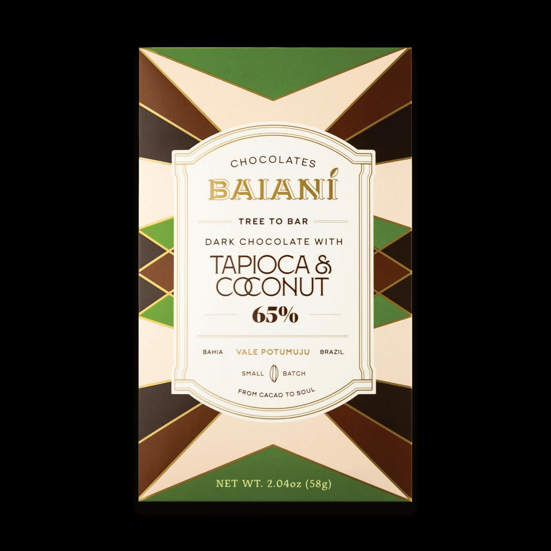 65% Cacao – Tapioca & Coconut